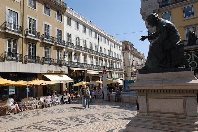 Bairro do Chiado em Lisboa