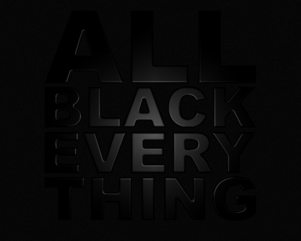 Art Comes First Next Years Inspiration All Black Everything