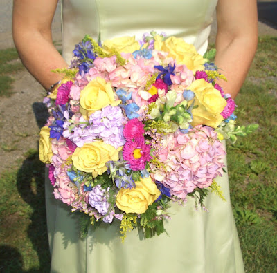 Pastel Spring Wedding Bridal Bouqet by Stein Your Florist Co