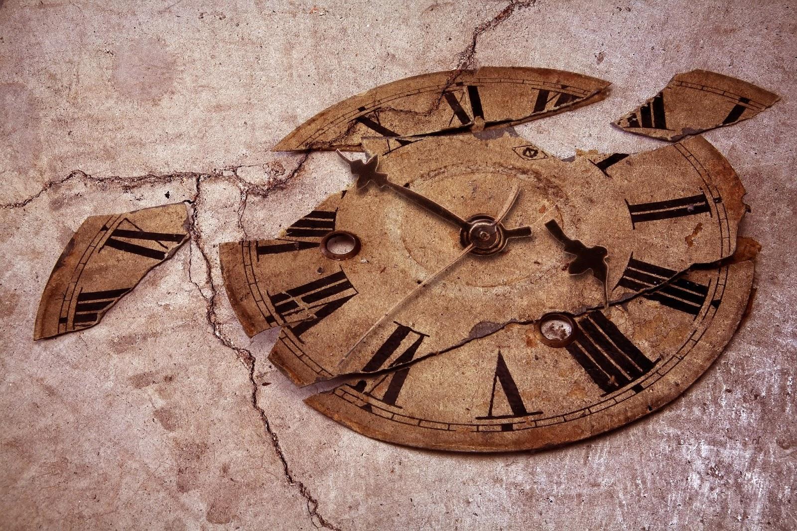 doctors with reiki: broken clocks
