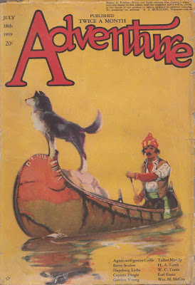 Adventure, July 18, 1919 cover by James Reynolds