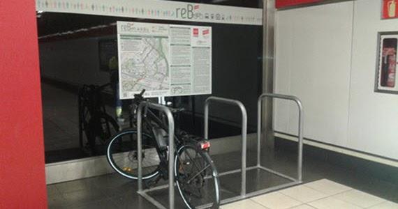 Nuevos aparcamientos de bici en las estaciones de fuente for Trabajo en rivas futura