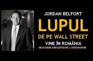 Lupul de pe Wall Street vine în România pe 18 noiembrie 2014