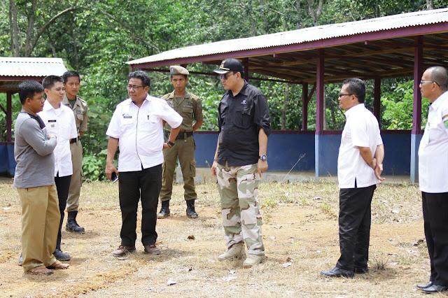 Berkunjung Ke Desa Kramat Jaya, Plt Bupati 'Zaman Now' Pastikan Infrastruktur Beres