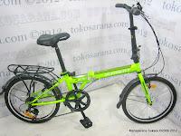 Sepeda Lipat Element Rock 7 Speed Shimano 16 Inci