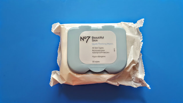 no7 beautiful skin quick thinking wipes