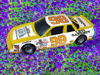 Morgan Shepherd #98 Levi Garrett Buick Racing Champions 1/64 NASCAR diecast blog 1982 Cheerwine Age 2017