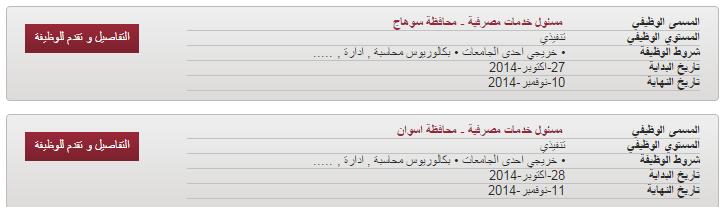 وظائف خاليه فى بنك مصر،منشور تاريخ 28/10/2014 التقديم مفتوح الان
