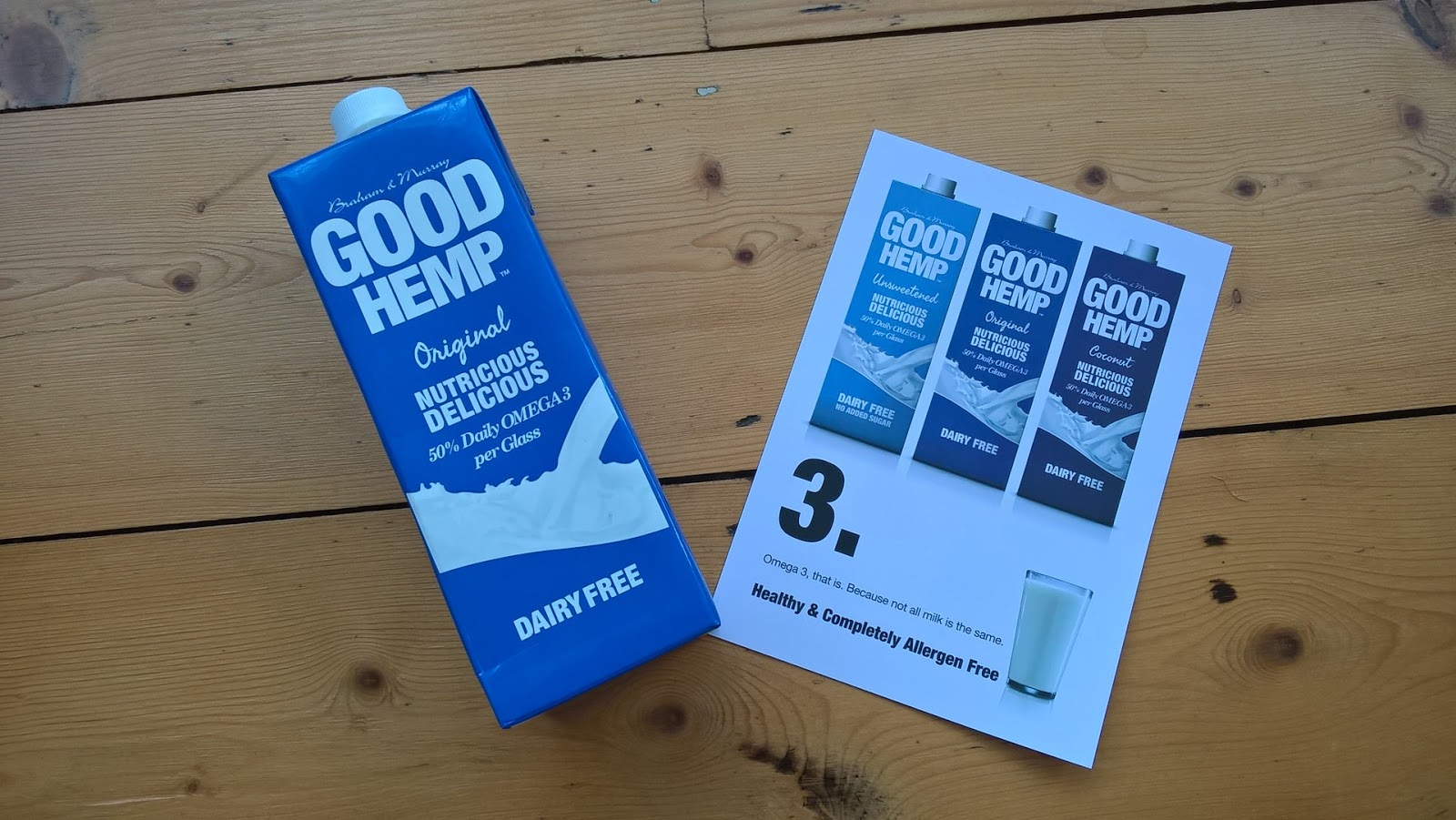 Good Hemp Original Dairy Free Milk - Food Subscription Boxes - motherdistracted.co.uk