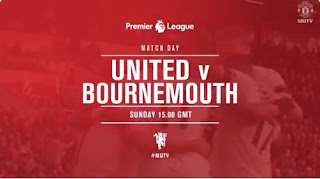 Susunan Pemain Manchester United vs AFC Bournemouth