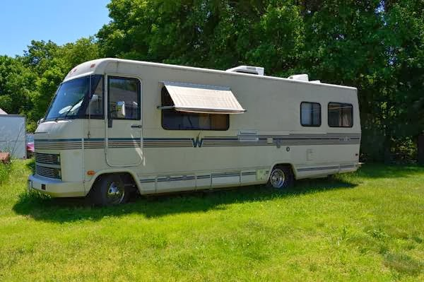1984 p30 chevrolet Motorhome Manual