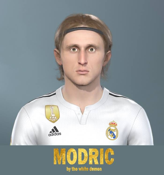 Luka Modrić Image 5: PES 2019 Faces Luka Modrić By Jarray & The White Demon