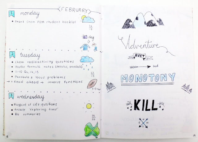 milkywayblog, milkywayblogger, milky way blog, milky way blogger, mwb, georgia, abbott, bullet journal, bujo, journal, quotes, inspiration, quote, February, daily tracker, daily layout, dailies