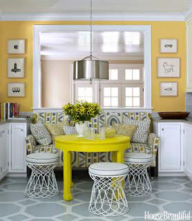 Decorações e Elementos Decorativos em Amarelo