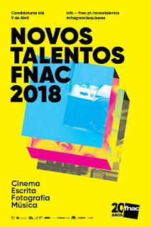 Nova Edição do Concurso Novos Talentos FNAC 2018!