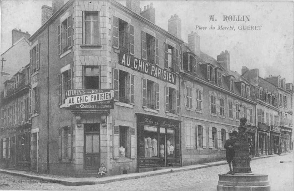 commerces immarcescibles au chic parisien gu ret. Black Bedroom Furniture Sets. Home Design Ideas