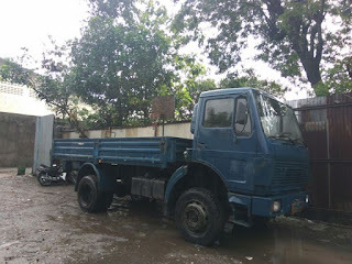 Dijual Truck Lawas Mercedes exs-Militer - SOLO