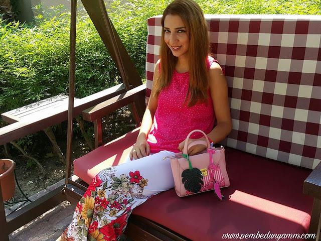 flamingolu çanta