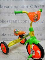 pmb 919 safari blue sepeda roda tiga bmx orange