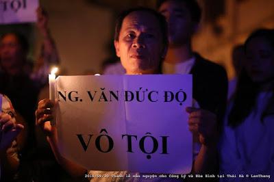 """Đám rận chủ làm gì trong """"Thánh lễ Cầu nguyện cho Công lý - Hòa Bình"""" tại nhà thờ Thái Hà"""