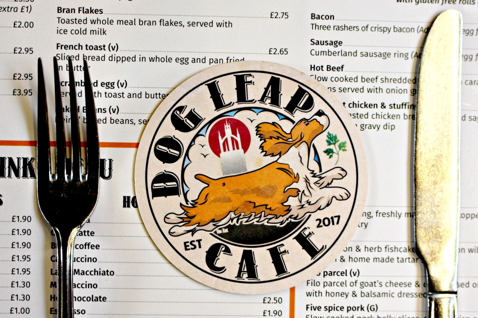 dog leap cafe review newcastle city centre