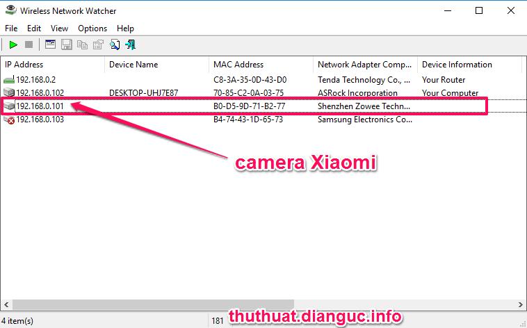 Hướng dẫn xem Camera Xiaomi trên máy tính
