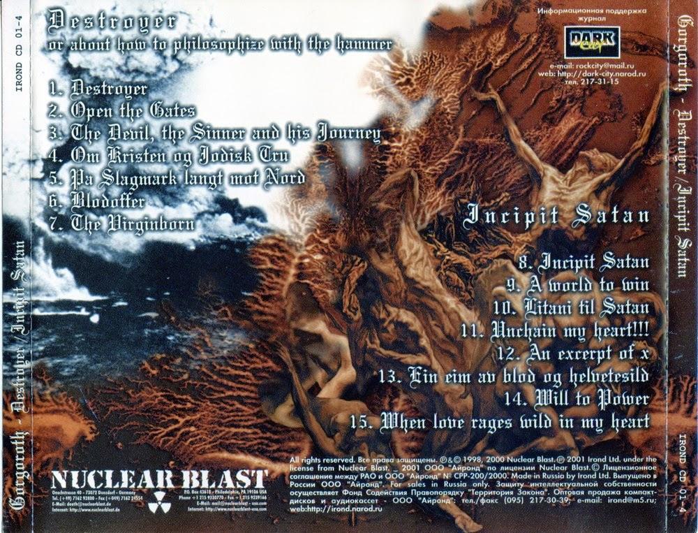 BAIXAR CD DO GORGOROTH