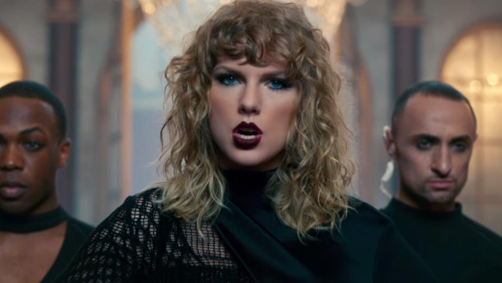 A nova Taylor não está pra brincadeira.