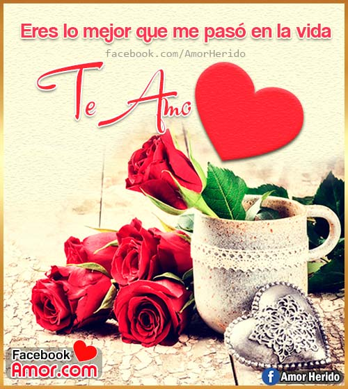 tarjetas de amor rosas
