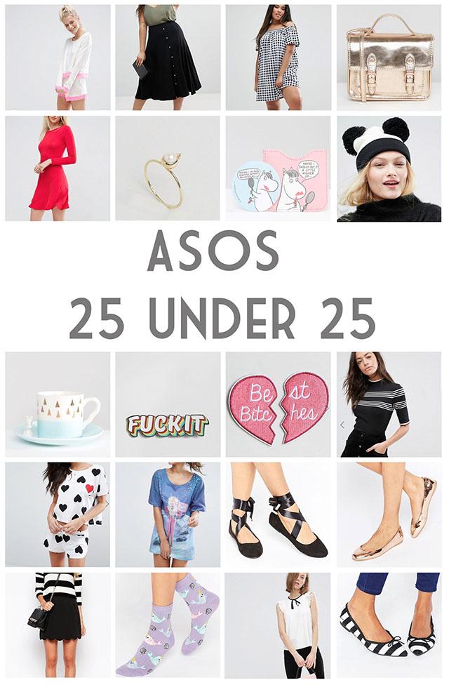 ASOS under £25
