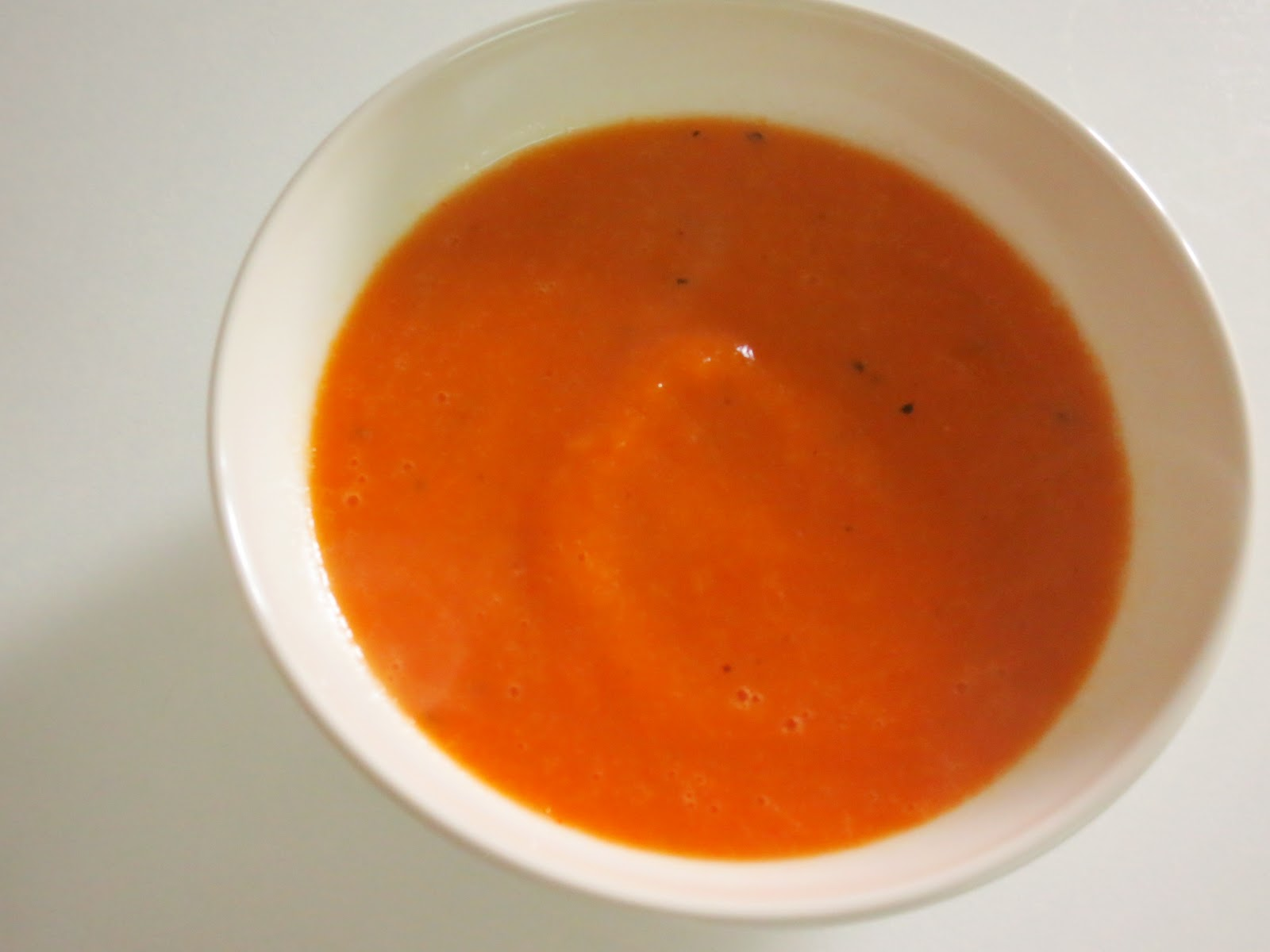 Sopa Light de Pimento e Alho Francês