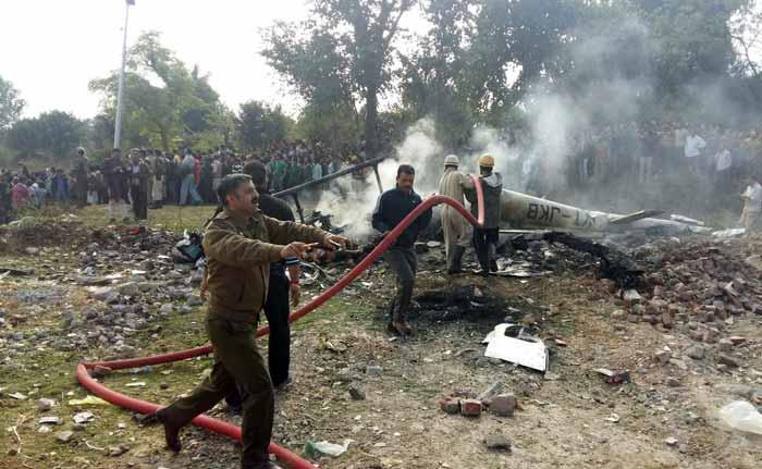Chopper Carrying Vaishno Devi Pilgrims Crashes in Katra 7 Dead