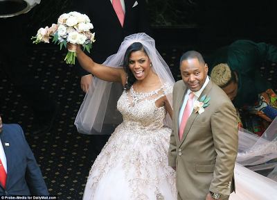 Donald Trump's assistant, Omarosa finally gets married after wedding was delayed by death threats