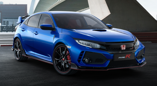 Honda Civic Type R 2018 Couleurs Colors