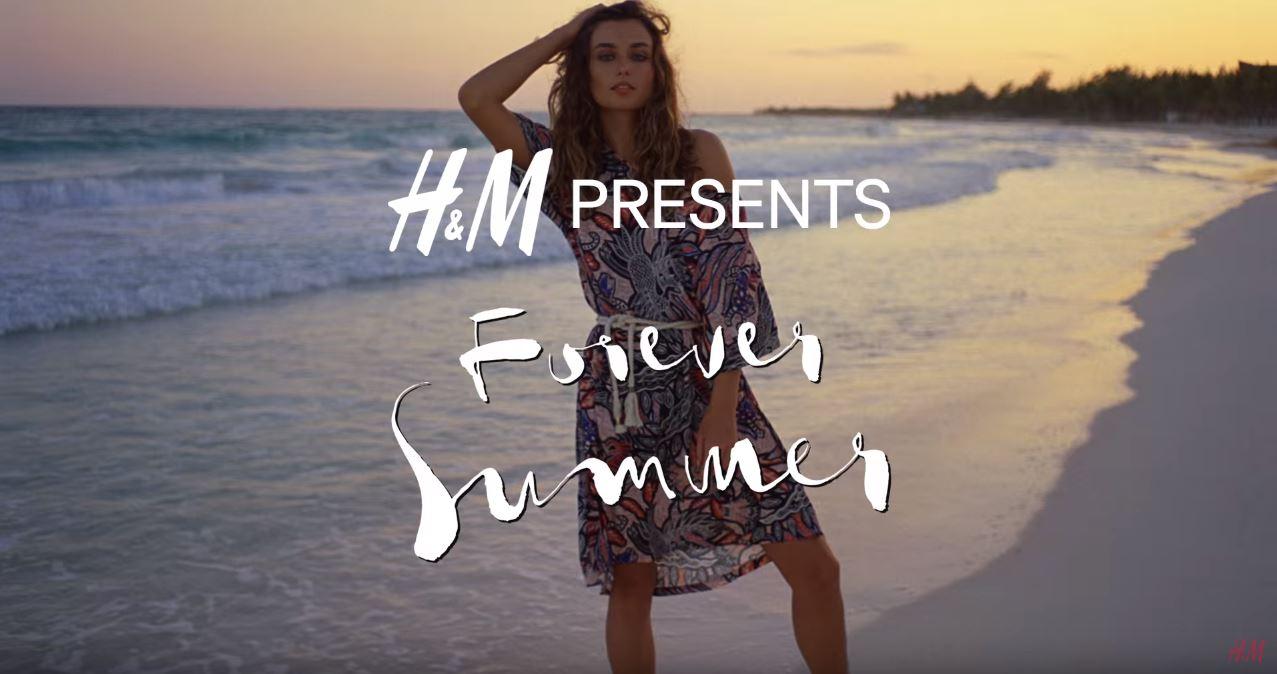 Canzone H&M estate 2016 costumi Pubblicità