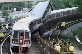 Washington train crash