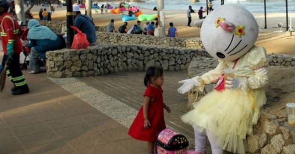 Makcik Hello Kitty Teluk Cempedak