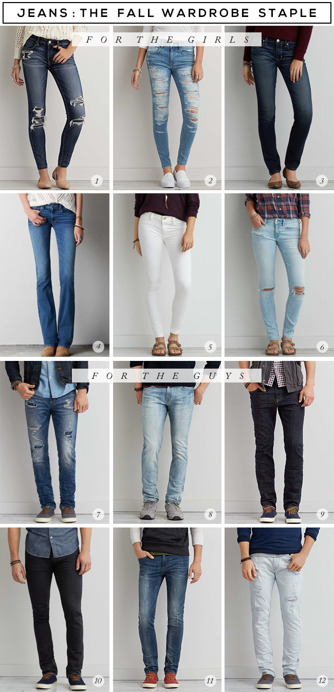 Best Jeans for Fall // Bubby and Bean