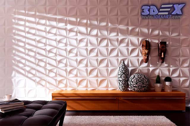 Decorative Interior Plastering : Decorative d gypsum wall panels and plaster paneling