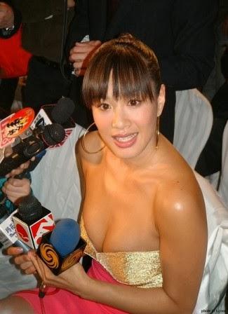 Christy Chung Artis Wanita Asia dengan Payudara yang Besar