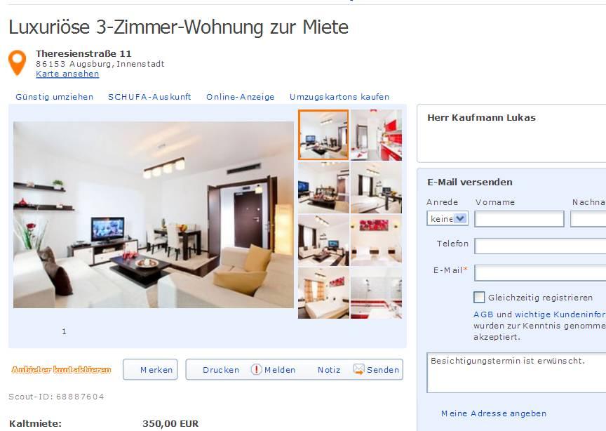 Wohnungsbetrug Blogspot Com Kaufmannlukas96 Yahoo Com