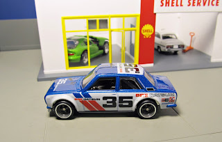 Hot Wheels RLC Car Culture   bre datsun bluebird 510