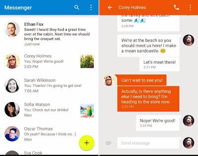 Download Google Messenger Terbaru Gratis untuk semua versi Android