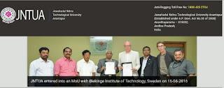 JNTU Anantapur Backlog Vacancies for Associate and Assistant Professor Notification