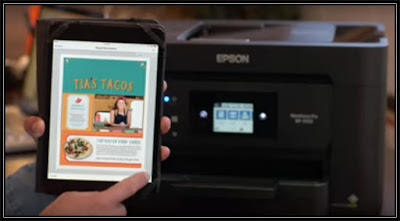 Epson WF 3720 Wireless Setup