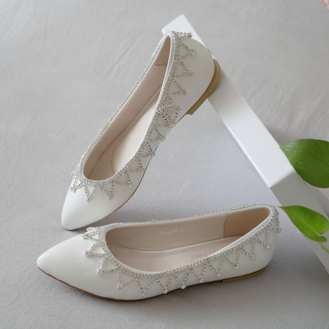 Wedding Shoe Flats