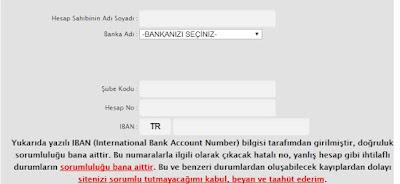 ByNoGame Banka Hesabina Para Cekme