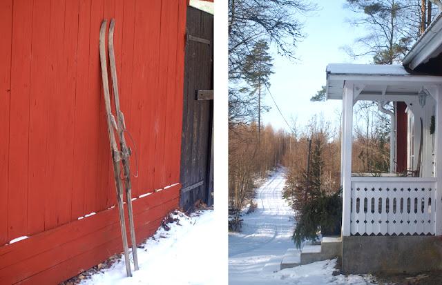 Vinter på Sverige gård