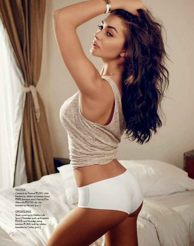 Amy Jackson gets sultry for Maxim India April 2015