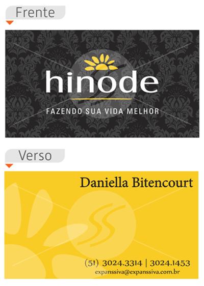 Cartões de Visita Hinode